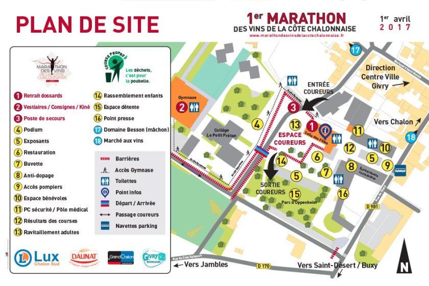 Village Marathon des Vins de la Côte Chalonnaise