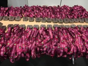 Les médaille de l'édition 2018 su marathon des vins de la cote chalonnaise sont prêtes.