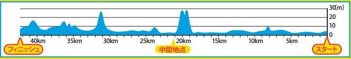 福岡マラソン コース 高低差