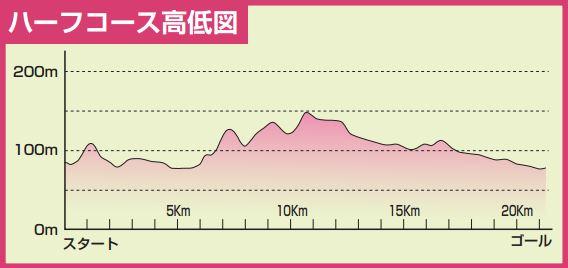 小川和紙マラソン コース 高低差