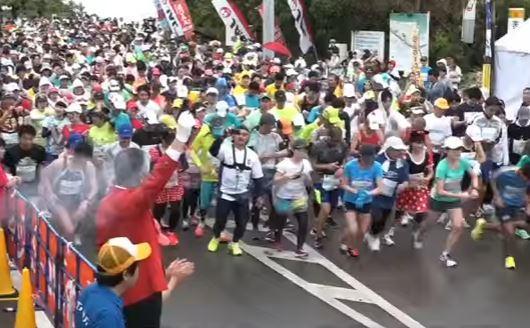 ヨロンマラソン コース