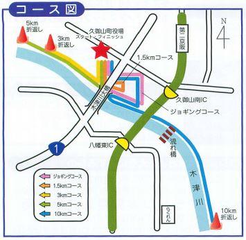 くみやまマラソン コース