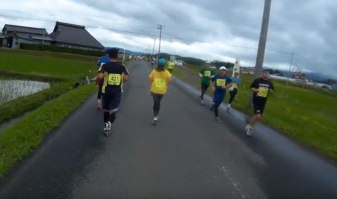 金ケ崎マラソン 関門