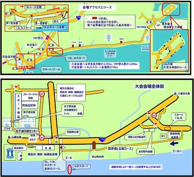 北下浦ふるさとマラソン コース
