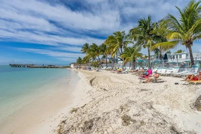 Cabana Club's Beach