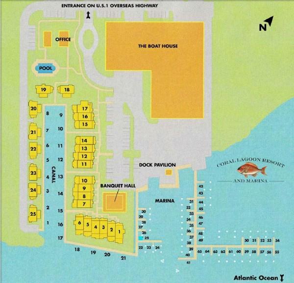 coral lagoon-marathon-fl-for sale-map