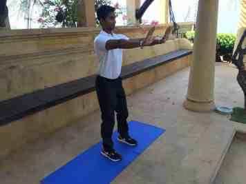 Squat Start Position