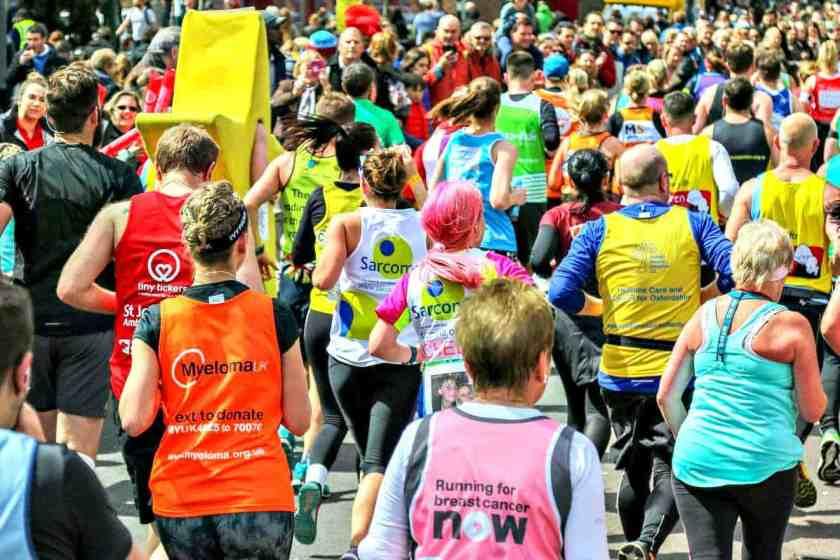 London Marathon featured