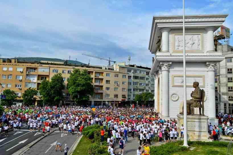 Wizz Air Skopje Marathon - Field Report 1