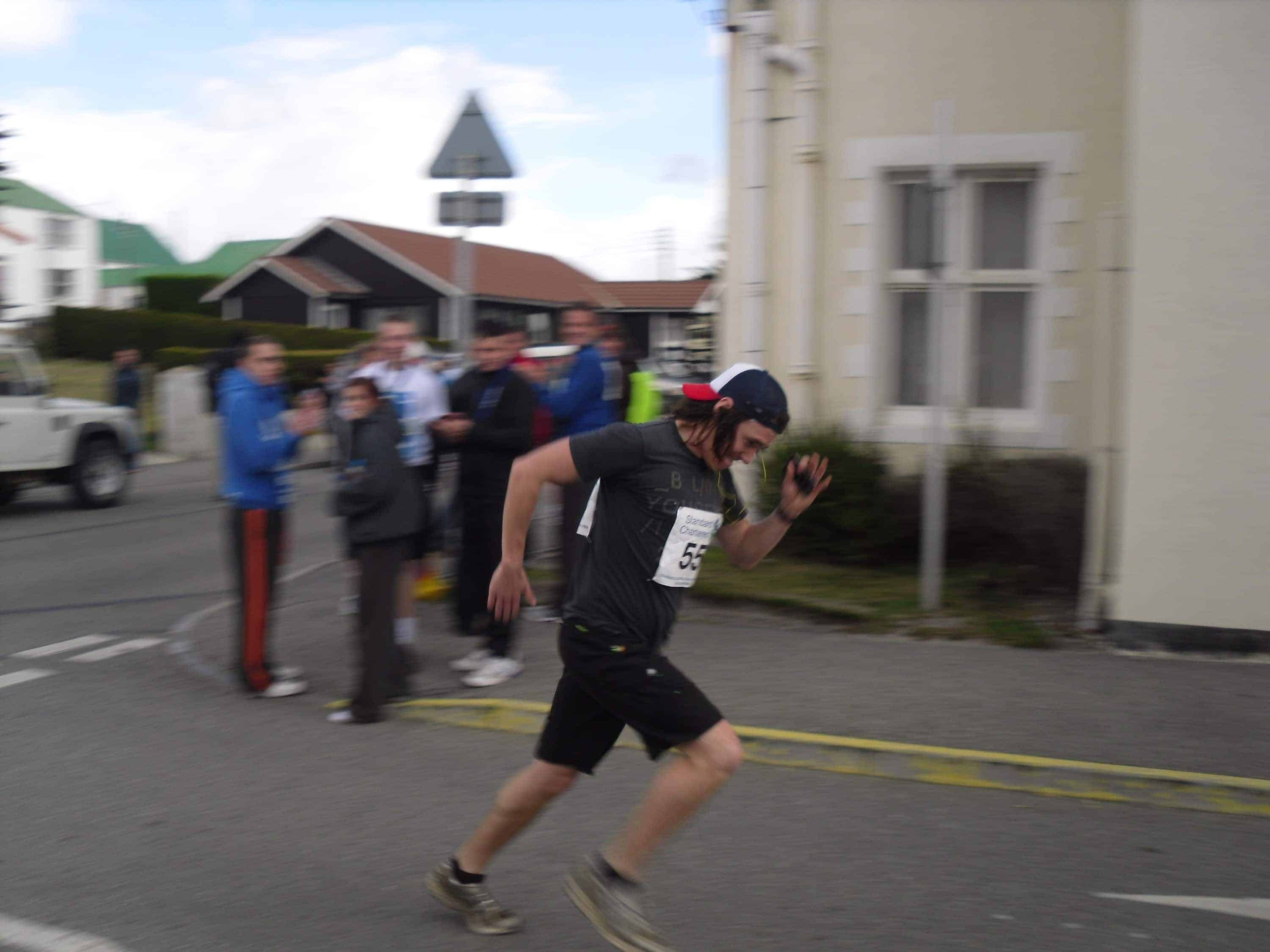 The Story of My First Marathon - Stanley, Falkland Islands 7