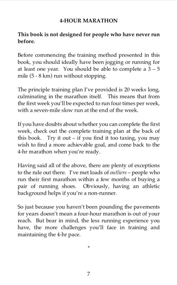 4hr marathon