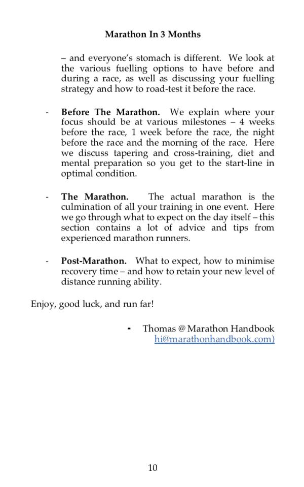 Marathon In 3 Months 6