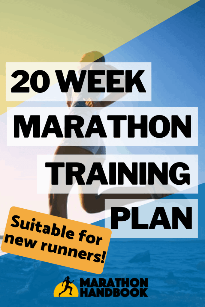 20 Week Marathon Training Plan for beginners