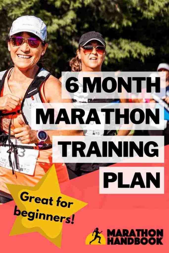 6 Month Marathon Training Plan