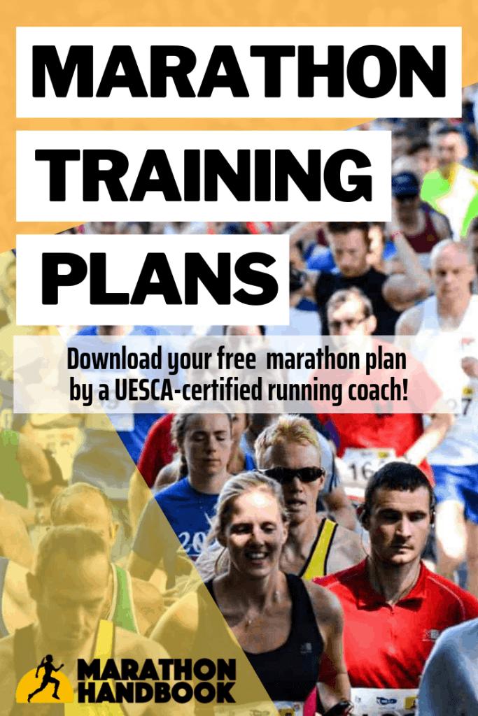 Marathon Training Plans