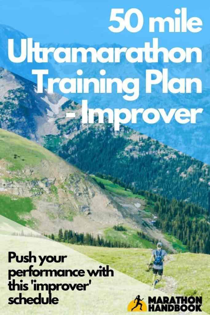 50 mile training plan - improver ultramarathon
