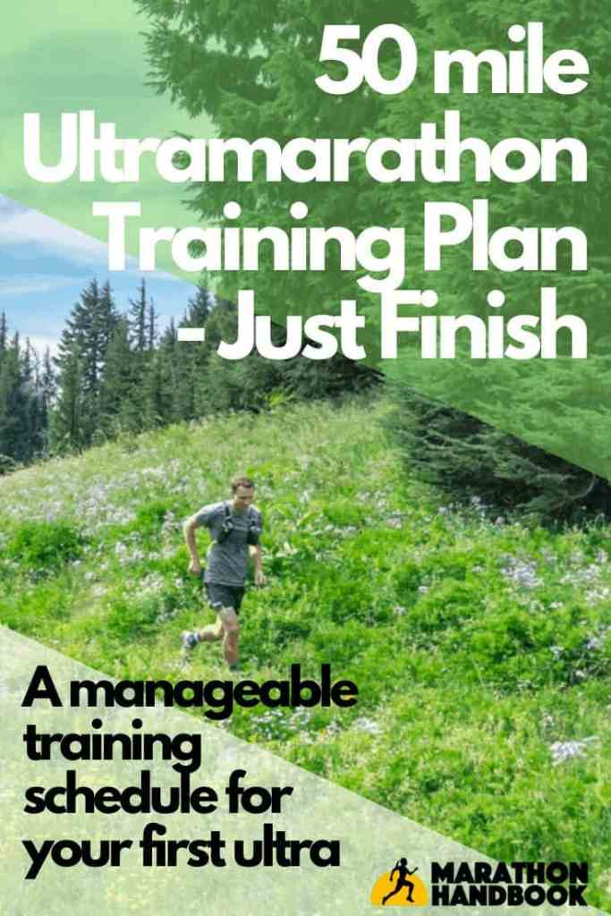 50 mile ultramarathon training plan - just finish
