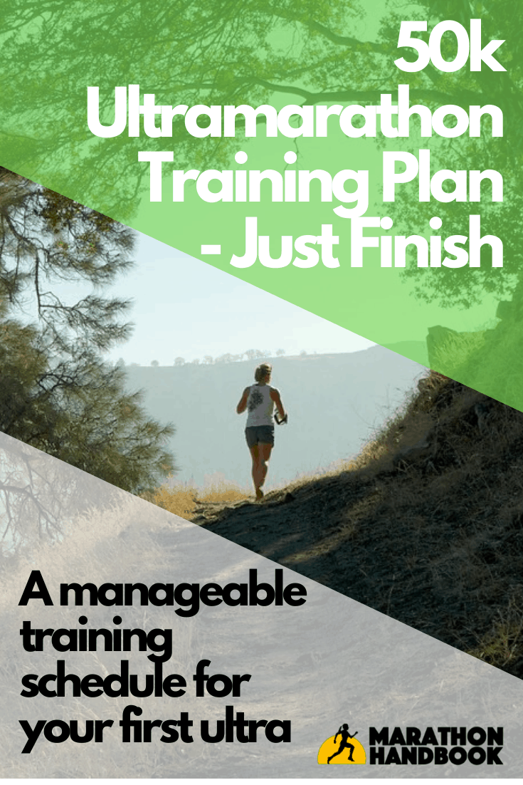 50k Training Plan - Just Finish 2
