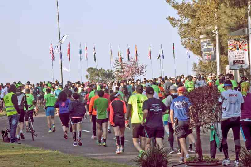 walking a marathon