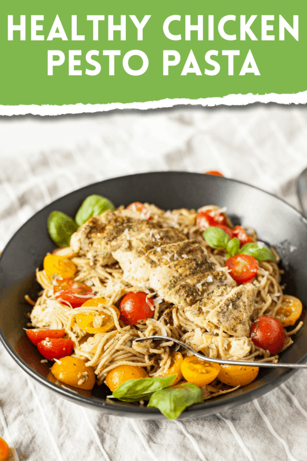 Healthy Chicken Pasta Recipe: Grilled Chicken Pesto Pasta 2