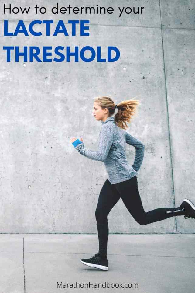 How To Determine Your Lactate Threshold Training