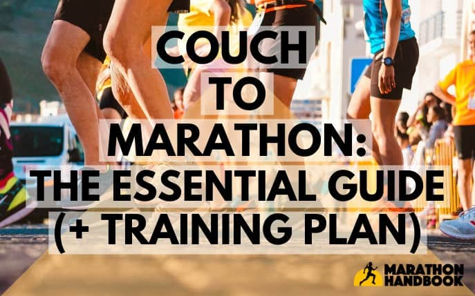 couch to marathon the essential guide and training plan