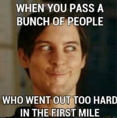funny running meme peter parker