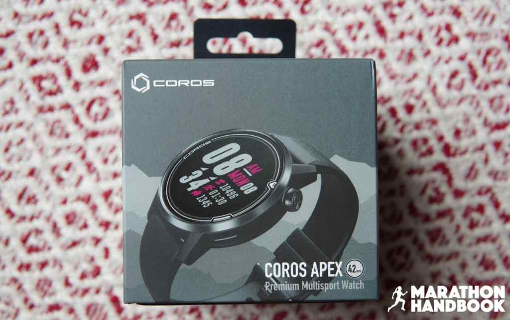 unboxing the coros apex 1