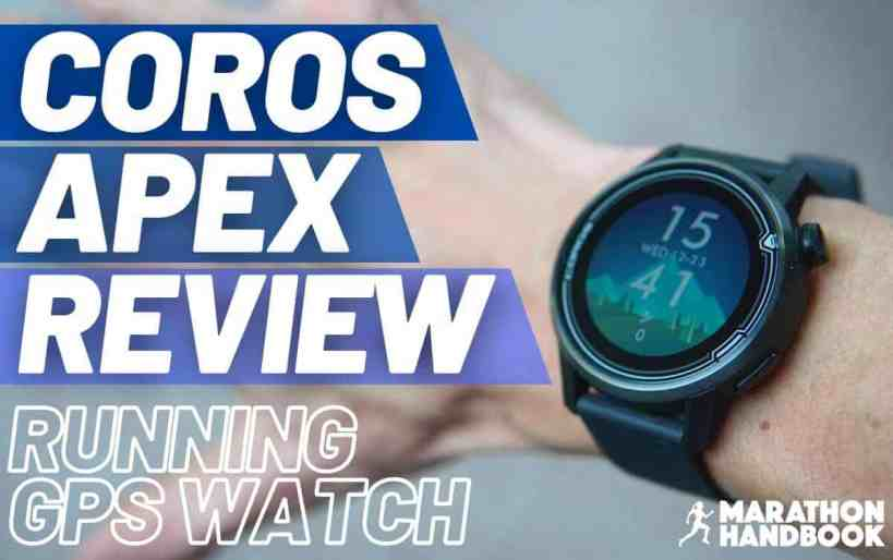 coros apex running gps review main