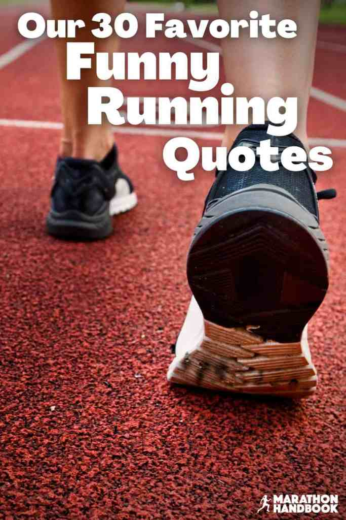 our favorite funny running quotes