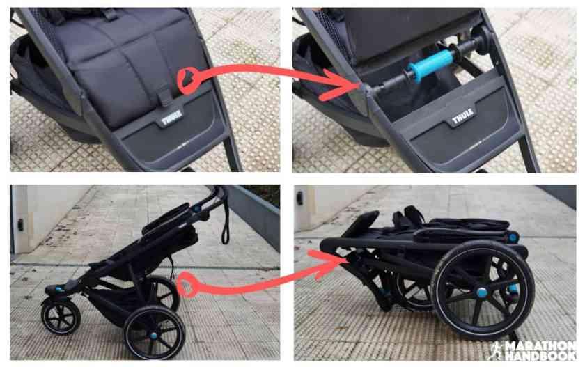thule urban glide 2 folding mechanism