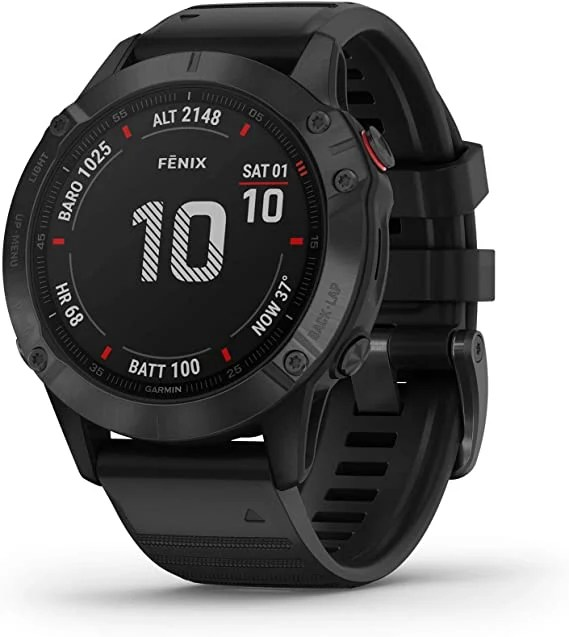 garmin fenix 6 pro  best ultra running watch