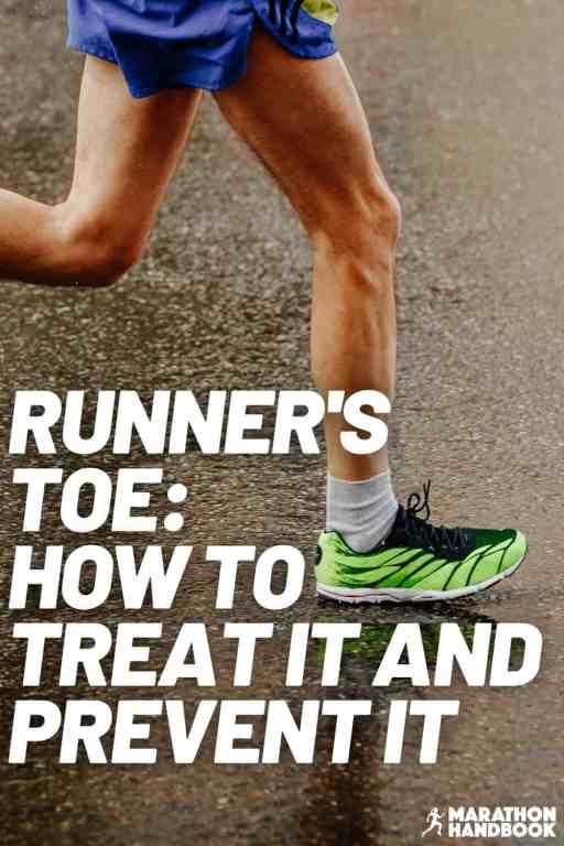 what is runner's toe runner's toenail