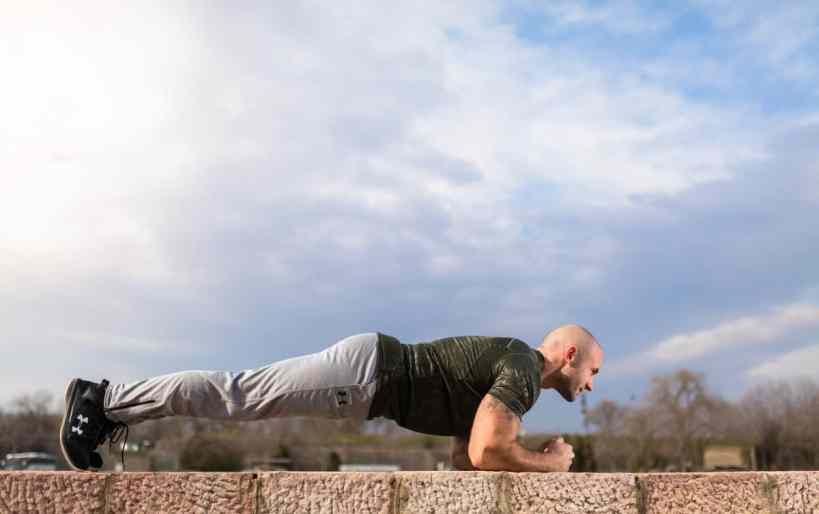 bodyweight exercises for runners planks
