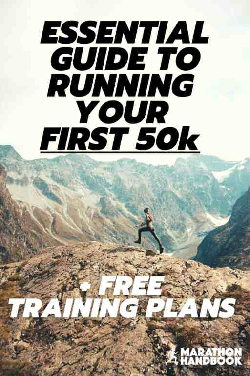 50k training plan training for a 50k