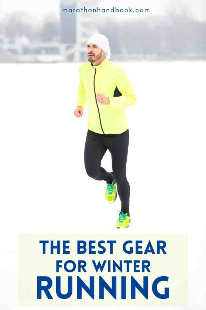 Want to start running outside in the winter but not sure where to start? We're sharing our best winter running tips here, as well as our favorite cold weather running gear! | Marathon Handbook #runningtips #fitness #winter