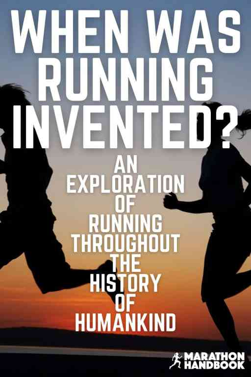 when was running invented main pin