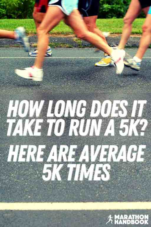 How Long Does It Take To Run a 5k? Average 5k Times main1