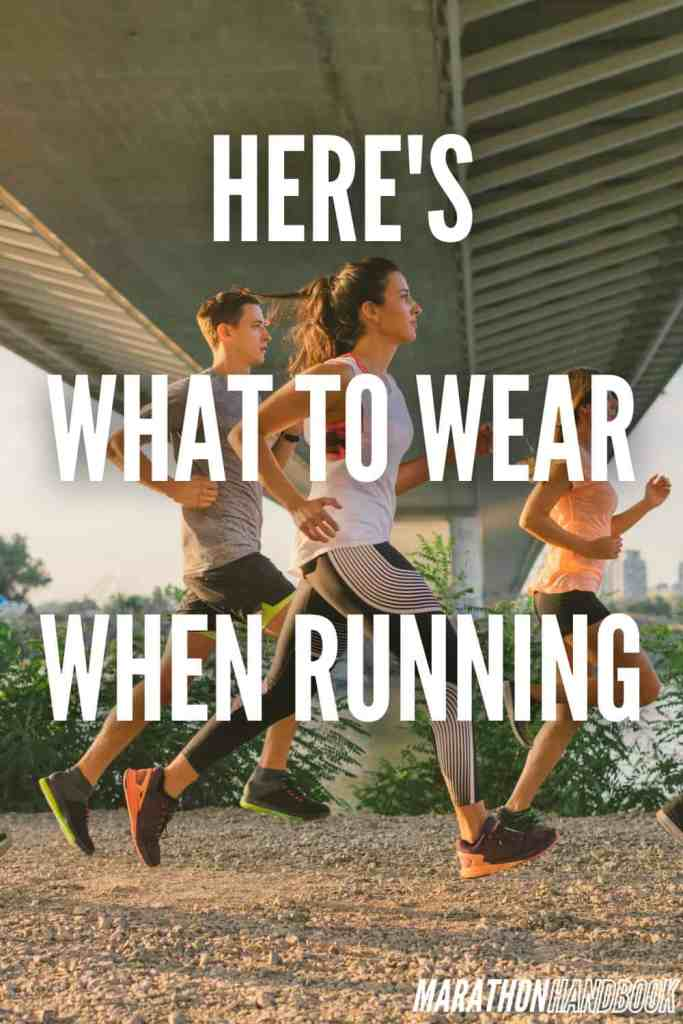 what to wear when running