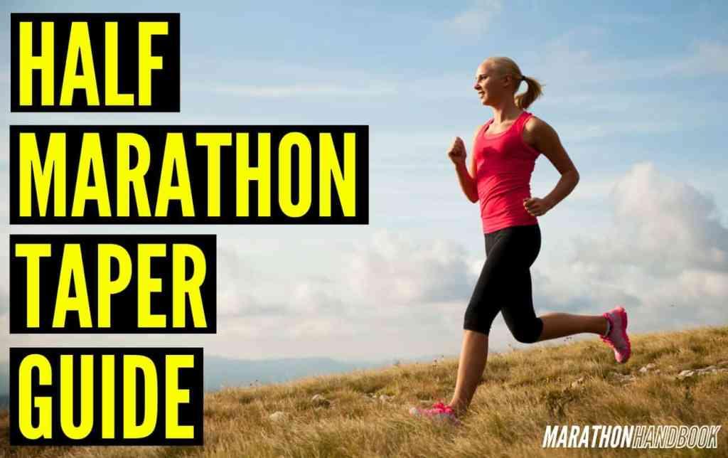 half marathon taper