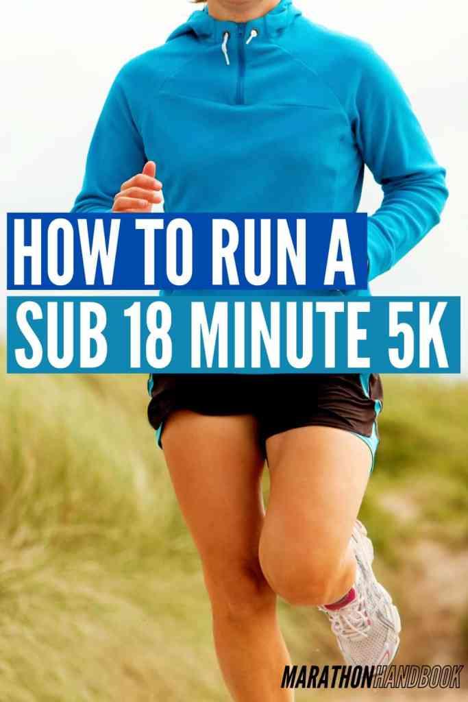 sub 18 minute 5k
