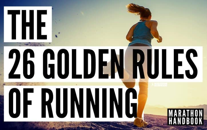 The 26 Golden Rules of Running 17