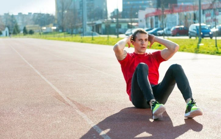 does running give you abs?
