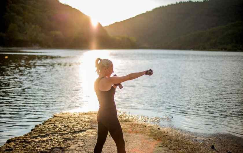 gaining weight from running