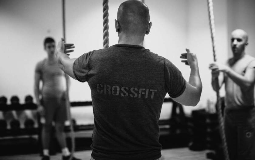 crossfit and running