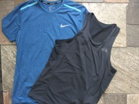 Light moisture-wicking apparel dries quickly and can be washed in the sink