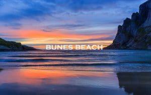 Bunes beach, Lofoten, Norway