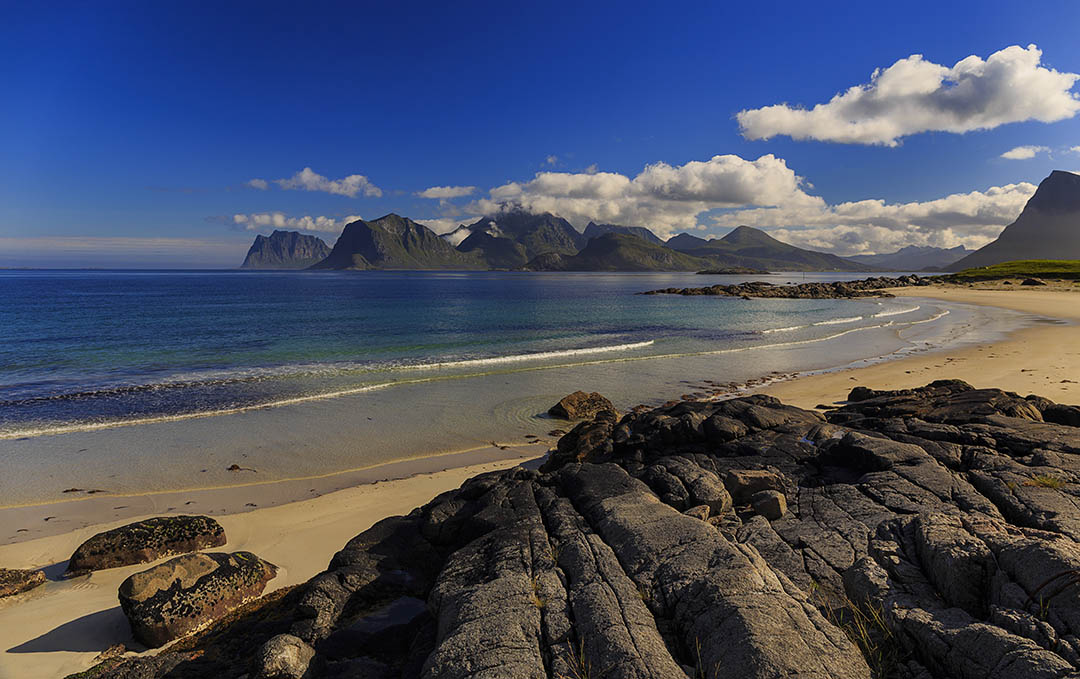 Storsandnes beach, Norway