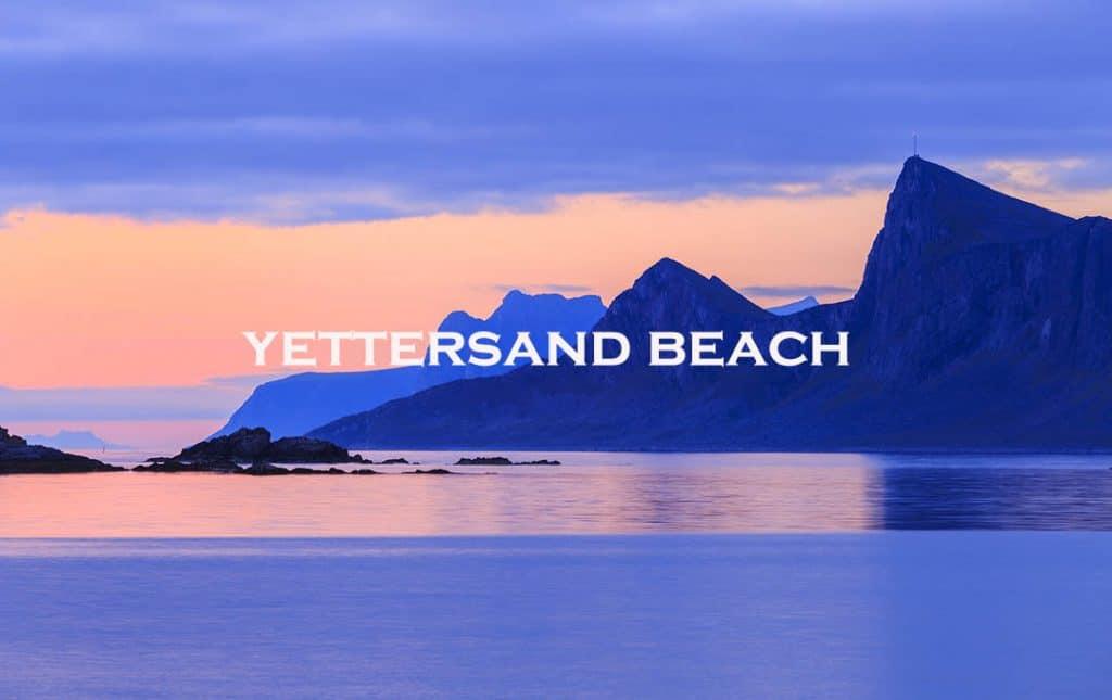 yettersand beach, lofoten, norway