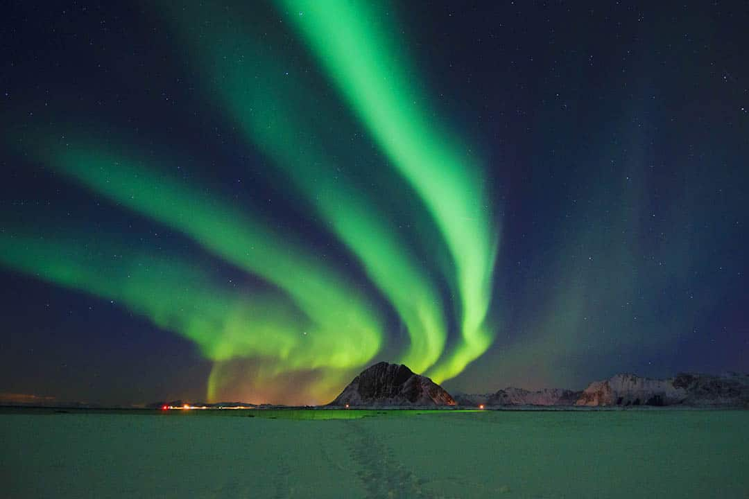 Northern Lights in Lofoten Islands